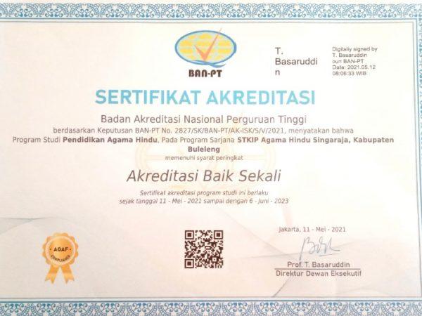 SK Akreditasi Program Studi